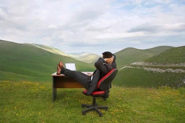 ישיבה במהלך העבודה