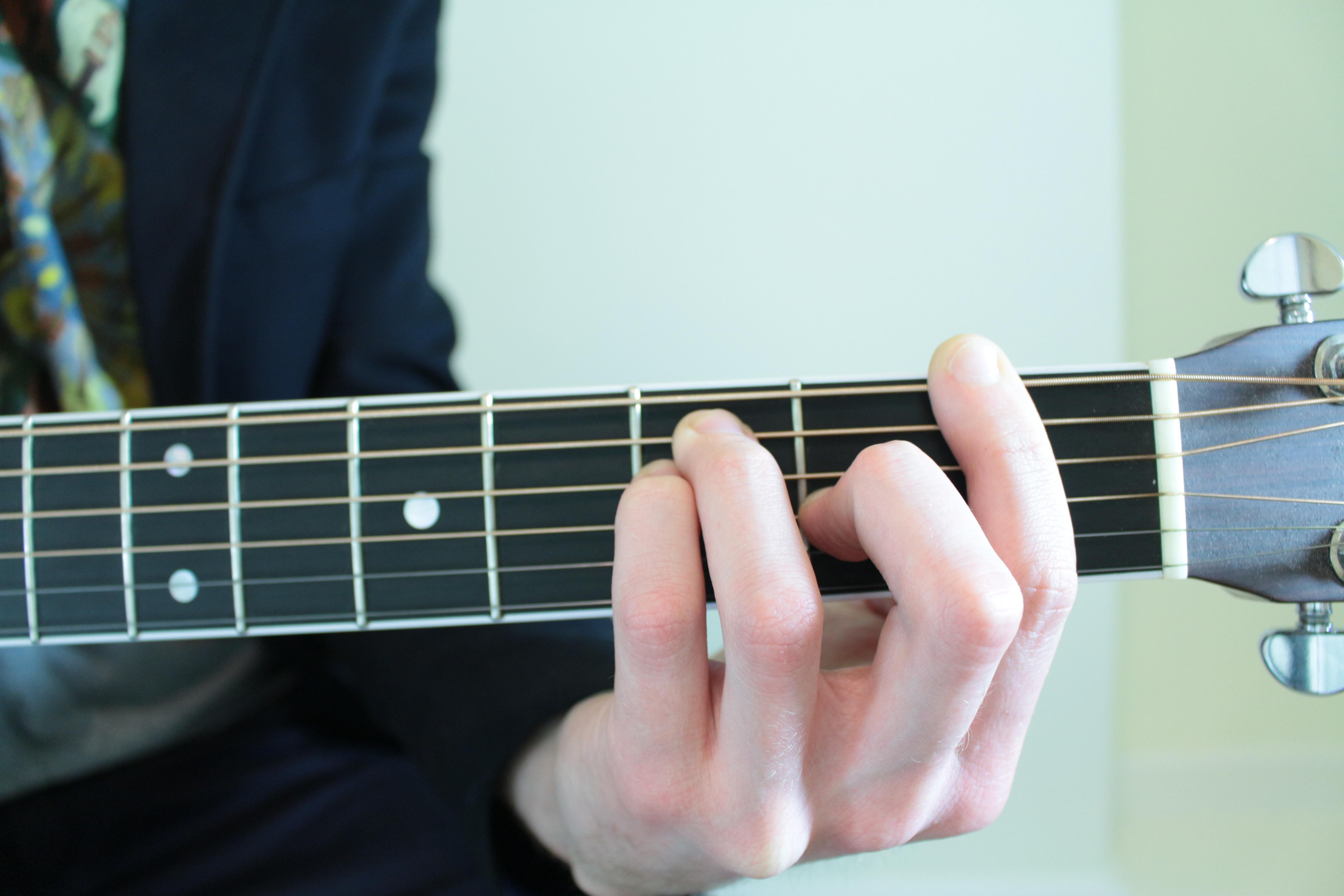 F Major Bar Chord For Guitar Fingerstyle Guitar Lessons
