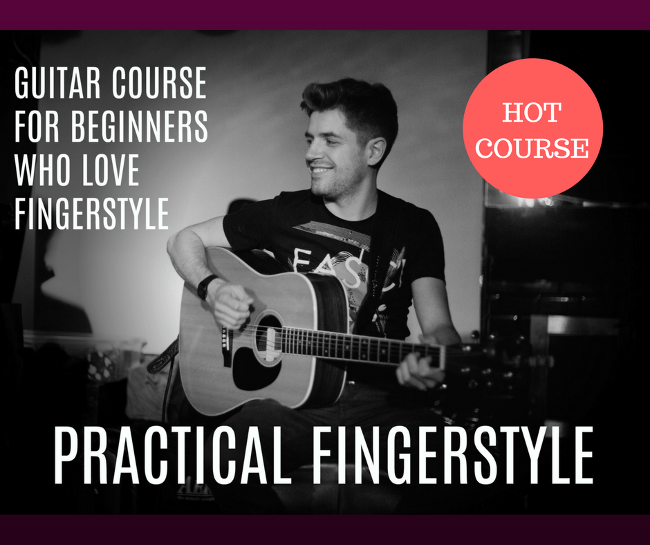 Practical Fingerstyle. Marco Cirillo fingerstyle guitar lesson for beginners. Acoustic guitar lesson.