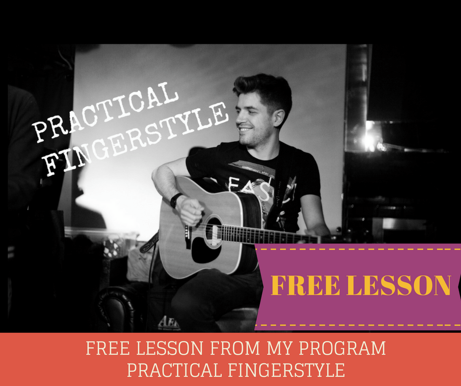 Practical Fingerstyle Free lesson Spanish Thumb