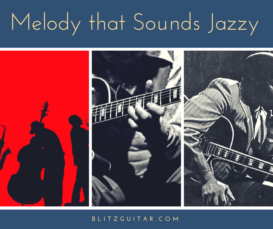 Melody that Sounds Jazzy | Beginner Guitar Lesson  Simple Jazz Melody
