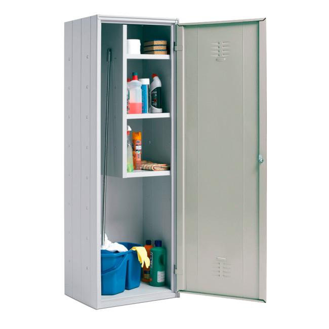 Armario de limpieza escobero con 3 estantes 324B40266