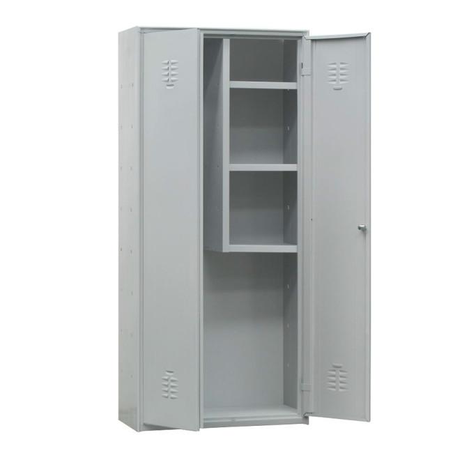 Armario de limpieza escobero con 3 estantes 324B40267
