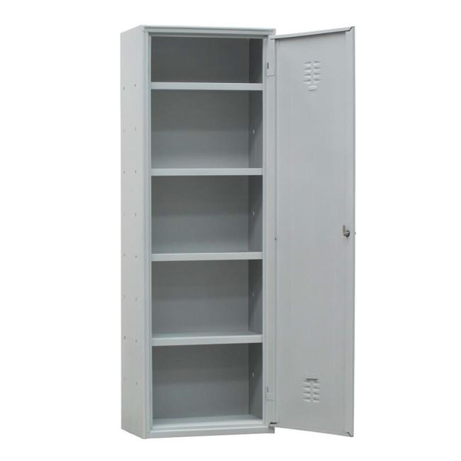 Armario metlico de limpieza con 4 estantes 324B40263