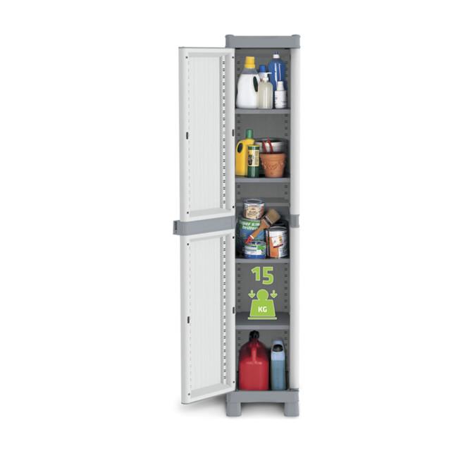 Armario de plstico con 1 puerta 348B16326