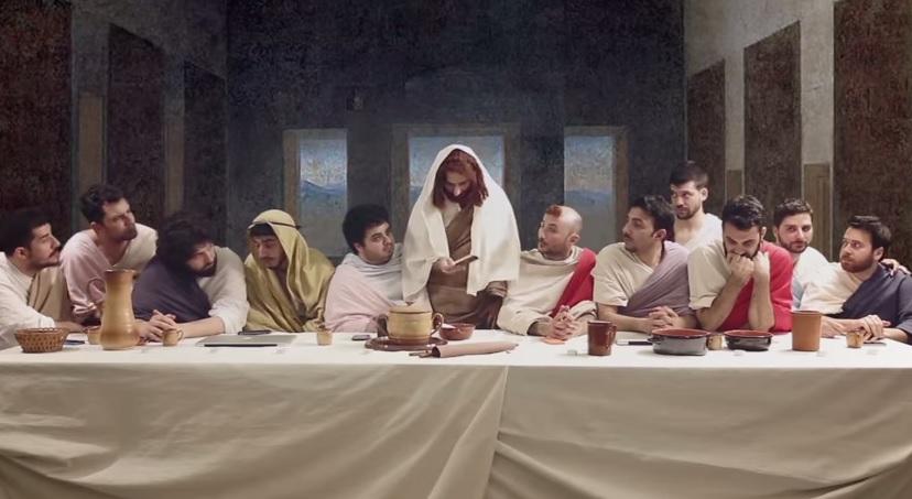 VIDEO YouTube Ultima cena 20 Ges e gli apostoli nell