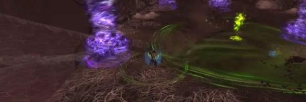 Elerethe utilise sa technique Vile embuscade sur un joueur aléatoire