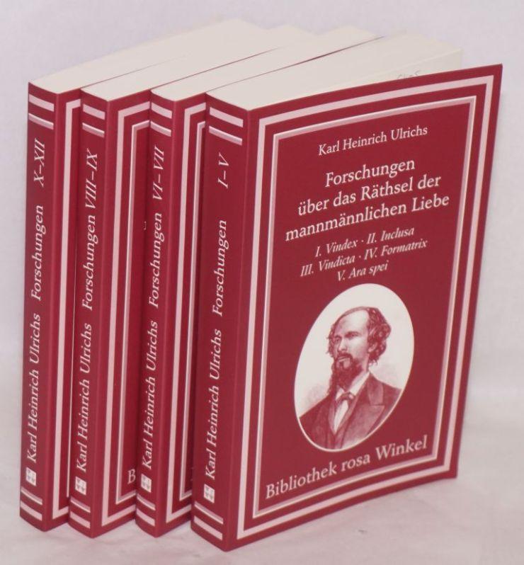 I libri di Karl Heinrich Ulrichs
