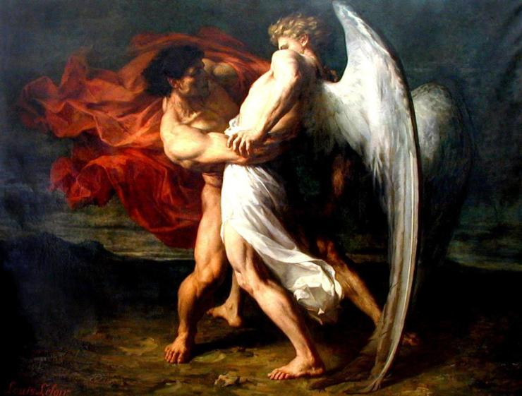 Giacobbe e l'angelo