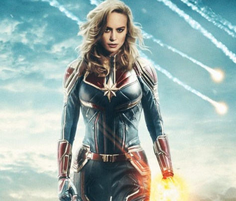 Brie Larson è CAPTAIN MARVEL