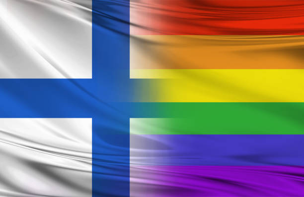 Bandiera finlandese rainbow