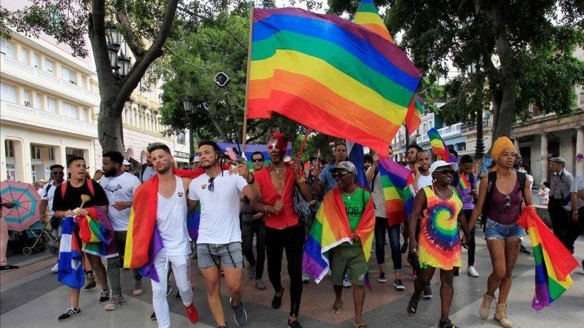 marcha derechos lgbt cuba