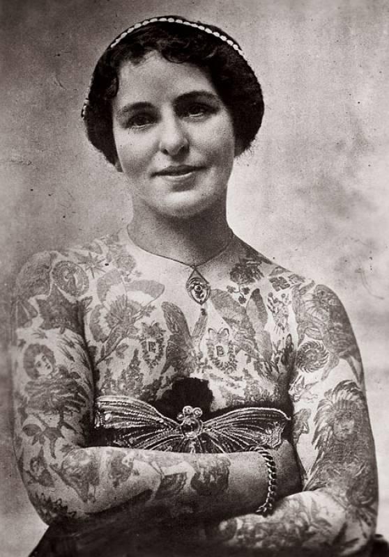 tatuaggio nell'antichità