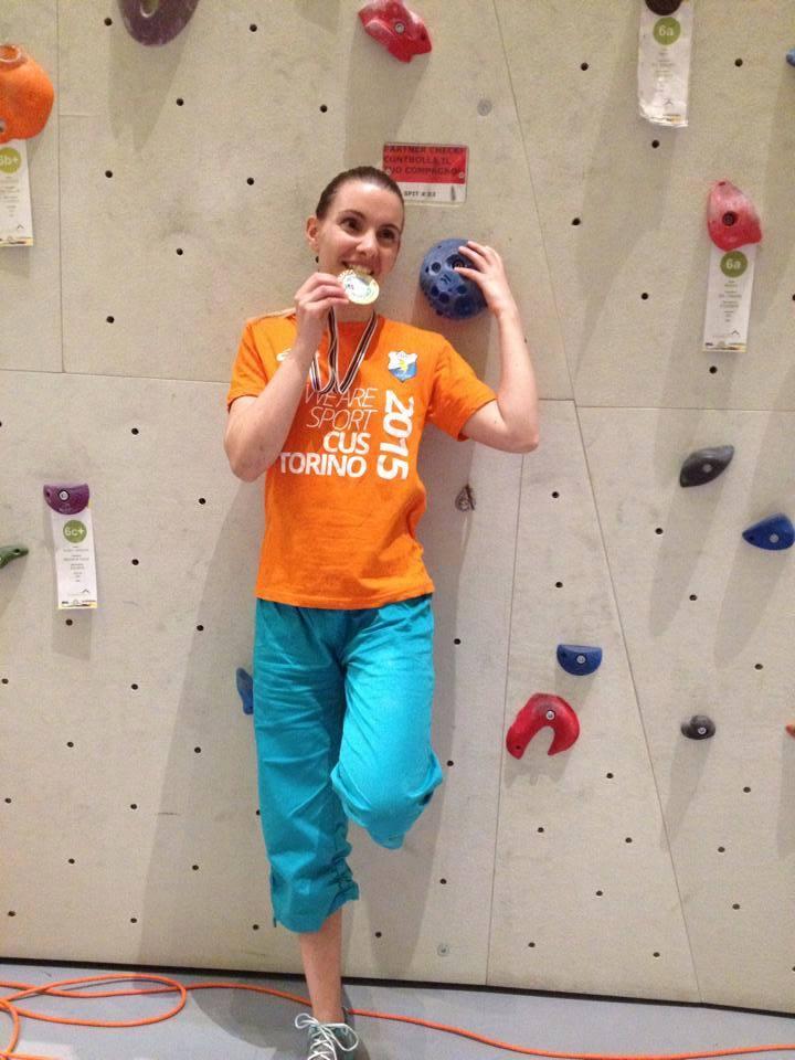 medaglia doro  arrampicata sportiva paralimpica
