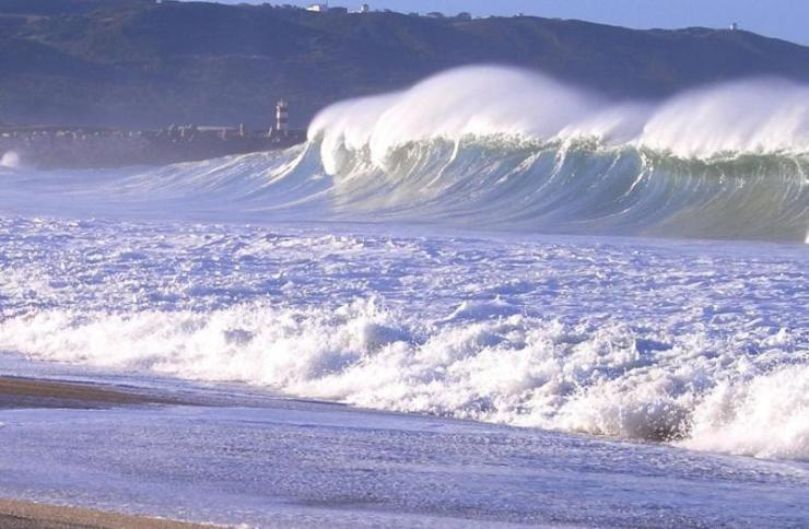 mar tirreno onde