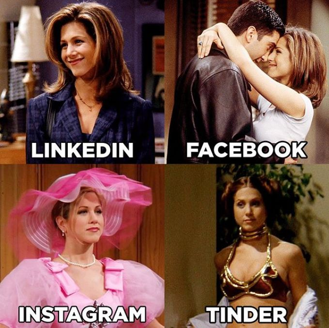 jennifer aniston social