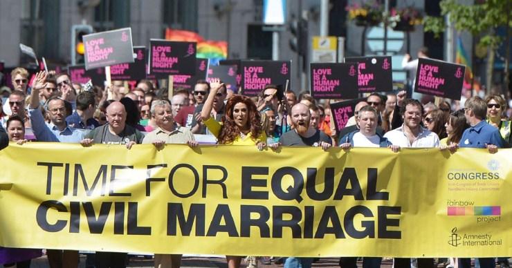 irlanda del nord matrimonio egualitariio