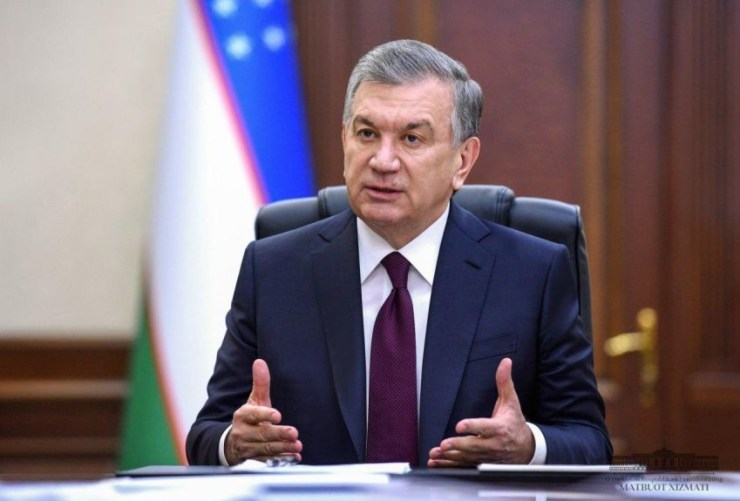 presidente uzbekistan