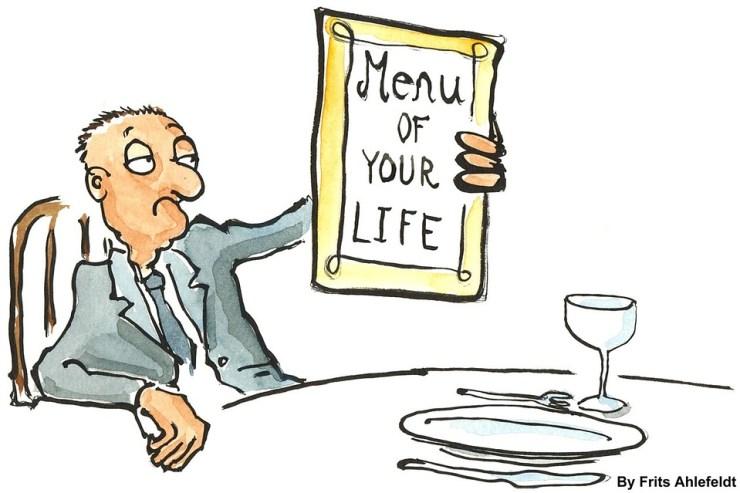 menù della tua vita