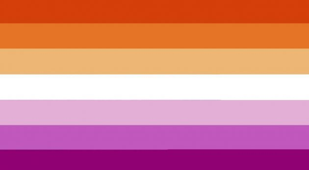 bandiera lesbiche