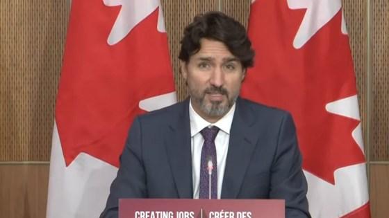 primo ministro canada nudo