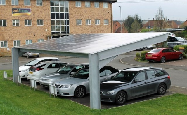 Lark Energy bolsters Bourne car ports with solar PV