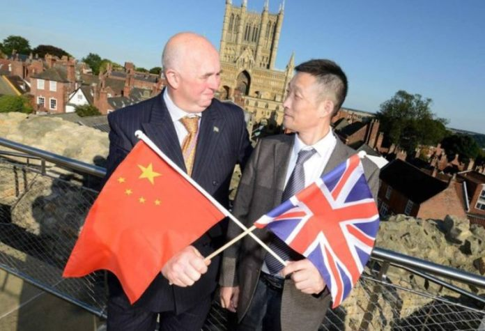 Chinese officials aim to strengthen economic ties with Lincolnshire