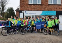 Yorks accountants raise £5k with charity cycle