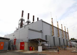 Scunthorpe MP opens Centrica's Brigg-based power plant