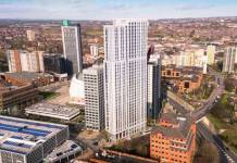 Contractor appointment on tallest building in Yorkshire