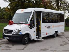Ring Carnation donates specialist system to care provider's mobility bus