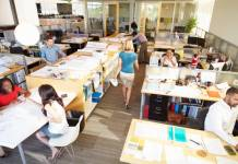Boosting worker wellbeing and productivity with office furniture