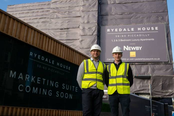 Regeneration plans unveiled for York's Ryedale House development