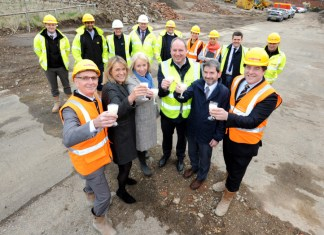 Work begins on housing development at former Lincoln dairy site