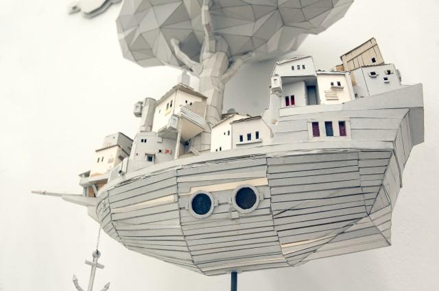 Kunst mit dem Schwerpunkten Skulptur von Stefan Fromberger, Stroke Art Fair 2013, Berlin, Foto: Kai La Quatra für BLN.FM