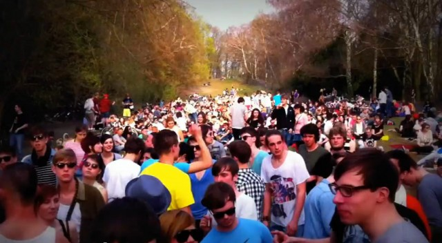 humboldthain open air 2011 - jay haze video still
