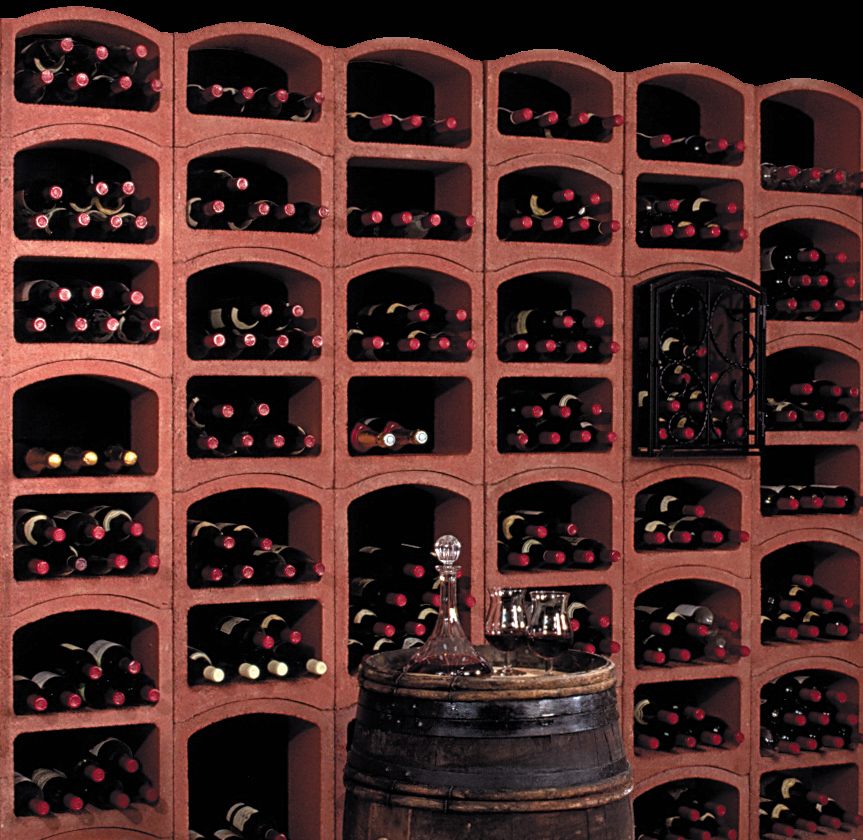 fitting out of wine cellars
