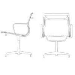 Office Chair Elevation Cad Block Recliner Gaming Bloc Autocad Decorating Interior Of Your House Sedia Ufficio In Prospetto Dwg Blocchiautocad It Plan