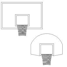 Campo da Basket Volley Calcetto in dwg  BlocchiAutocadit