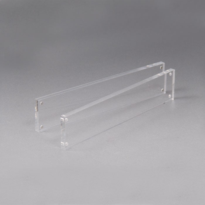 acrylic desk chair mats is too low clear magnetic bar   block and company