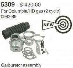 Carburetor Assembly For Columbia/Harley Davidson 2 Cycle