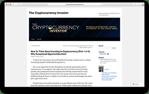 University of chicago cryptocurrency