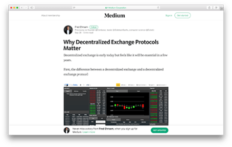 Why Decentralized Exchange Protocols Matter
