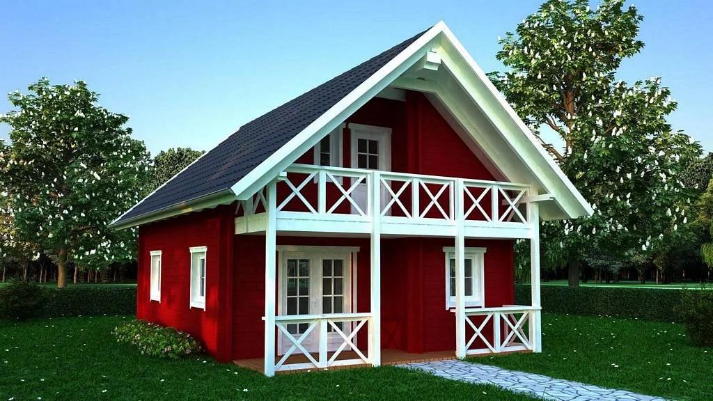 Holzhaus Stella  Einfamilienhaus von Blockhaus 24