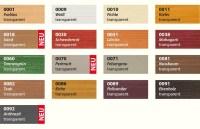 Holzschutzlasur / Holzschutzfarbe fr Auen, 2.5 Liter