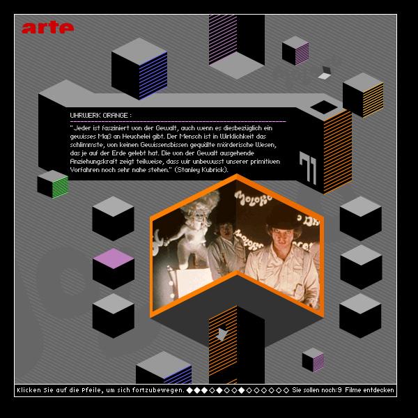 Stanley Kubrik - Online Special - Arte - 2007