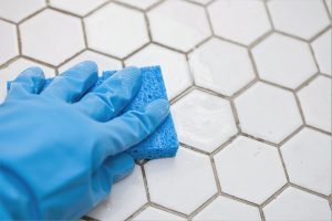 clean your tiles after a renovation
