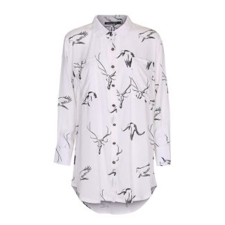 Henny Pencil Animals bloes /blouse offwhite