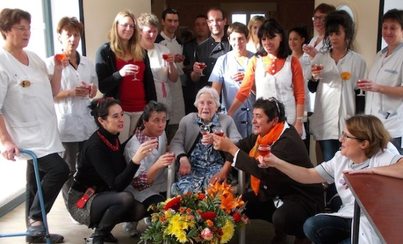 105 ans mme archambault