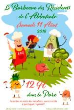 affiche barbec 2018